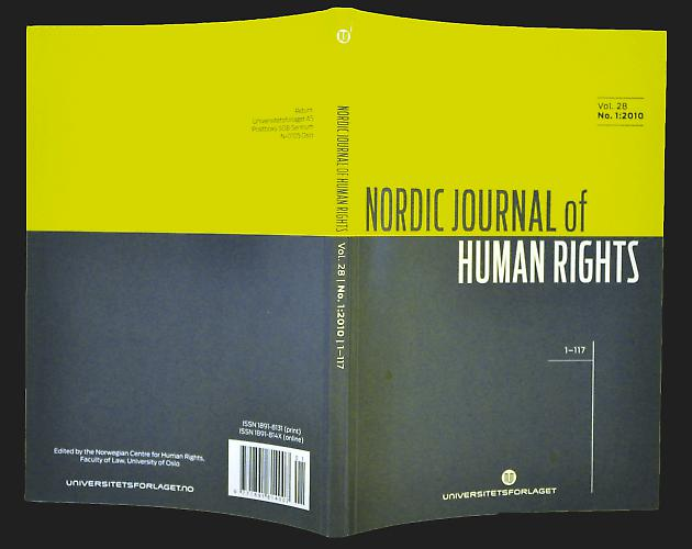 Nordic Journal of Human Rights